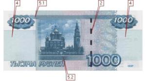 1000 рублей 2004 вторая сторона